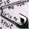 rip me open
