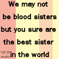 saying for a friend or sister in law