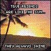friends are the sun