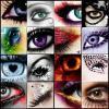 Eye icon collage
